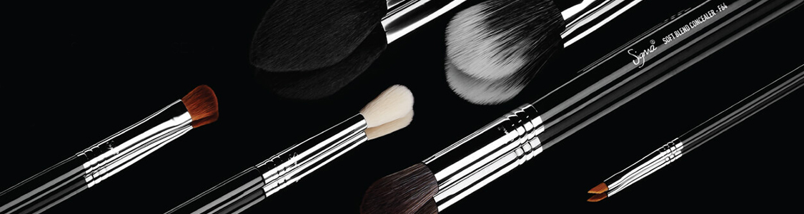sigma beauty makeup brushes banner
