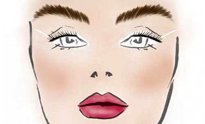White Might: 10 Ways to Wear White Eyeliner