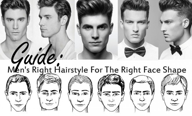 Men's Right Hairstyle For The Right Face Shape