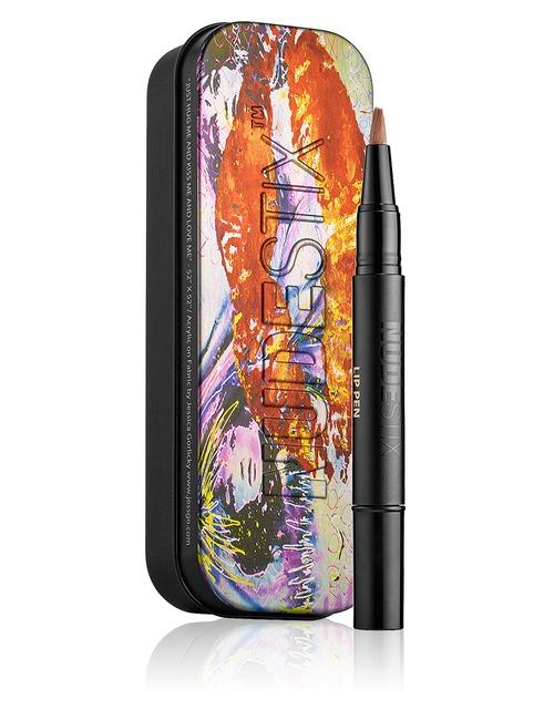 Sephora Fashion & Accessories Deal: 17% off Nudestix Lip Pen Gloss Kiss Tin - Nudity Gloss from Nudestix
