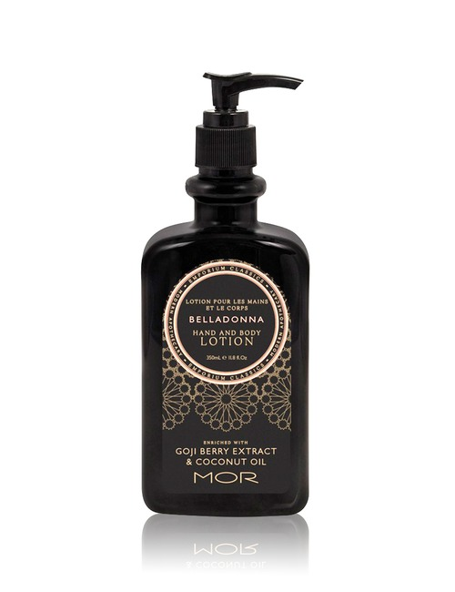 Sephora Health & Beauty Deal: 23% off MOR Emporium Classics Belladonna Hand And Body Lotion 350ml  from MOR