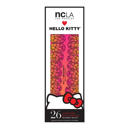 Closeup   hello kitty packaging hello kitty gradient web