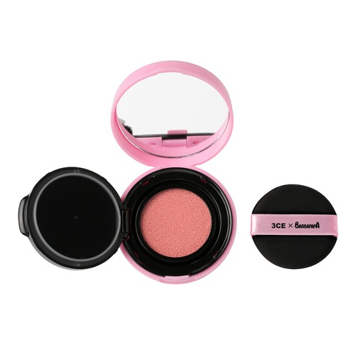 Closeup   3ce barbapapa blush cushion pink