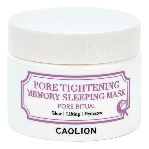 Closeup   5. caolion pore tightening memory sleeping mask 1 web