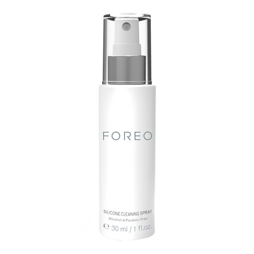 Closeup   foreo cleaning spray web