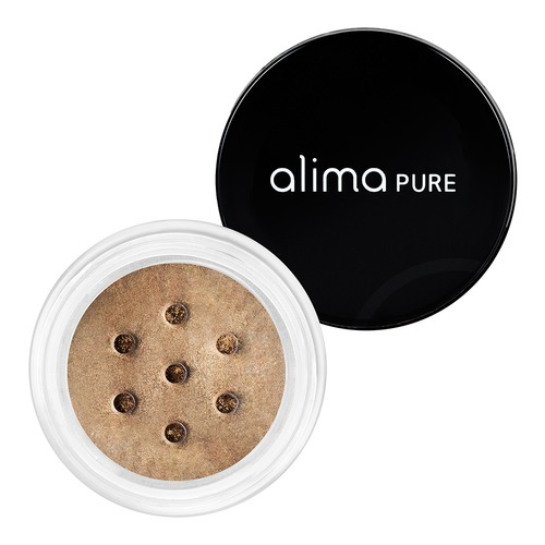 Closeup    0002 camel pearluster eyeshadow alima pure