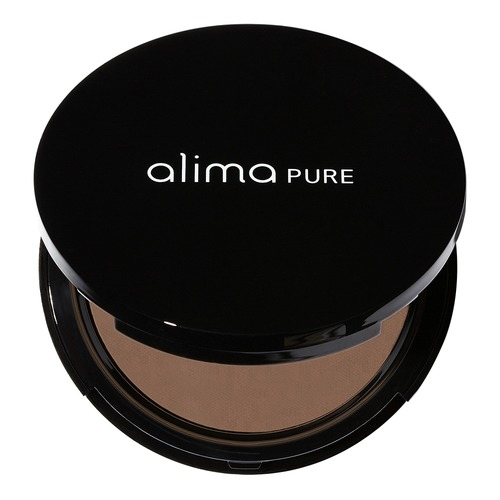 Closeup    0001 sable pressed foundation with rosehip antioxidant complex compact alima pure