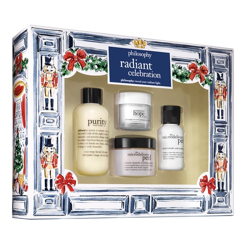 Closeup   philosophy radiantcelebrationchristmasset