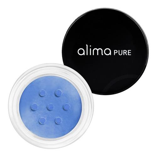 Closeup    0022 cobalt satin matte eyeshadow alima pure