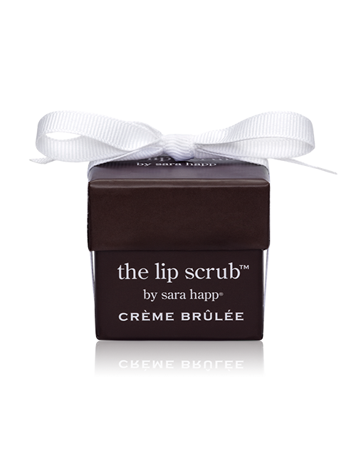Closeup  sh cremebrulee box