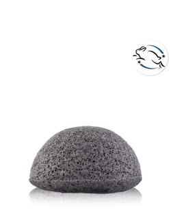 Konjac Sponge Puff With Bamboo Charcoal