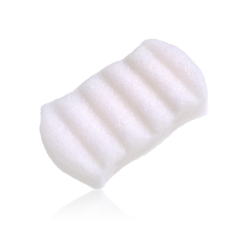 6 Wave Body Sponge 100% Pure Konjac